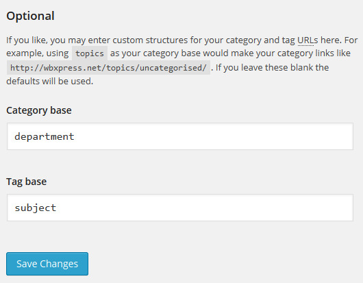 wordpress-category-tag-base